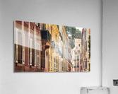 Monaco Street  Acrylic Print