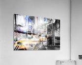 New York City Geometric Mix No. 9  Impression acrylique