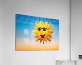 Forecast Clear and Sunny  Acrylic Print