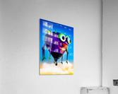 Flying Purple People Eater  Acrylic Print