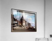 Schreierstoren by Willem Koekkoek Fine Art Old Masters Reproduction  Acrylic Print