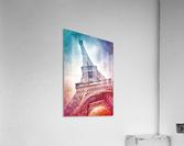 Modern-Art EIFFEL TOWER  Acrylic Print