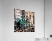 New York City Geometric Mix No. 4  Acrylic Print