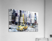 City-Art NYC Collage  Impression acrylique