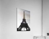 Eiffel tower in black   Impression acrylique