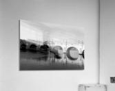 Pont Neuf Reflection  Impression acrylique