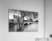 Seine river flood  Impression acrylique