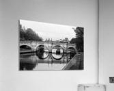 The barge  Impression acrylique