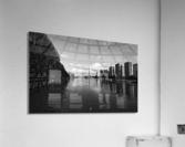 Flood reflection  Impression acrylique