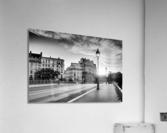 Sully bridge sunrise  Impression acrylique
