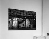 Brancion tunnel  Impression acrylique