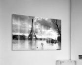 Eiffel tower flood  Impression acrylique