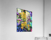 Echeveria Hybrid With Yellow Flowers  Acrylic Print