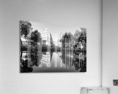 Canal Saint Martin reflection  Impression acrylique