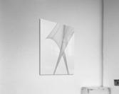 Abstract Sailcloth 3  Acrylic Print