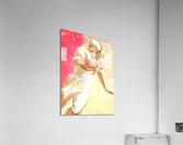 1963 Running Back Vintage Gridiron Wall Art  Acrylic Print