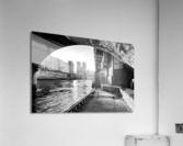 Under the bridge  Impression acrylique