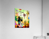 EMBRACE YOUR FAIRY MUSE -ART-For Painter Artist  Acrylic Print