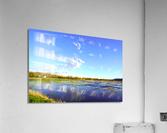 Beautiful Day at the Estuary  Acrylic Print