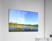Beautiful Day at the Estuary 2  Acrylic Print