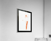 I Know What He Wants for Fathers Day by George Petty Pin-up Girl Vintage Art  Acrylic Print