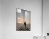 Back Walking Away  Acrylic Print