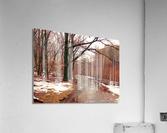 Park Path   Acrylic Print