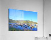 Perfect Day at Hood River Marina   Oregon  Acrylic Print