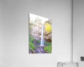 Majestic Falls in the Gorge   Columbia River Oregon  Acrylic Print