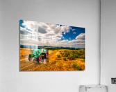 My Green Tractor  Acrylic Print