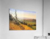 Wasatch Mountains Nebraska by Bierstadt  Acrylic Print