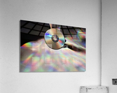 CD Rainbows  Acrylic Print