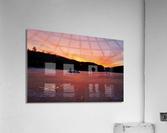 Scenic Fiery North Shore Sunset  Acrylic Print