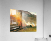 White Mountains, New hampshire 1 by Bierstadt  Acrylic Print