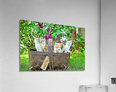 Basket of Kittens  Acrylic Print