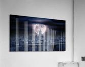 Between The Moon & NYC  Acrylic Print