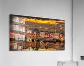 Old Port Of Maasslui    Acrylic Print