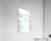 ABSTRACT PAINTING 75  Acrylic Print