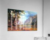 Yosemite Valley 2 by Bierstadt  Acrylic Print