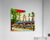 LE JARDIN NELSON OLD MONTREAL RESTAURANT SUMMER STREET SCENE  Acrylic Print