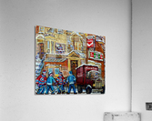 MOE S DINER CASSE CROUTE DU COIN MONTREAL WINTER SCENE  Acrylic Print