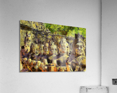 CAMBODIA Angkor Wat oil painting in Vincent van Gogh style. 141  Acrylic Print