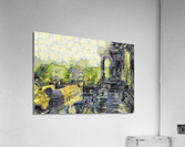 CAMBODIA Angkor Wat oil painting in Vincent van Gogh style. 130  Acrylic Print