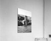 Grand Island Light house BW  Acrylic Print