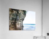 Land Meets Water  Acrylic Print