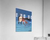 Psychoanalysis Portrait  Acrylic Print