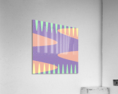purple path  Acrylic Print