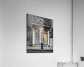 French Quarter Lamp Light  Acrylic Print