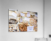Desserts at market in France  Acrylic Print