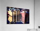 Moored Fishing Boats  Acrylic Print
